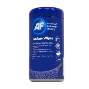AF Professional Cleaning Wipes Antibacterial Alcohol Base Tub 100