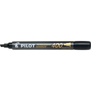 Pilot Permanent Marker Chisel Tip Black