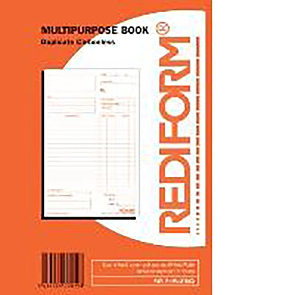 Rediform Book Receipt Small R/Recsml Duplicate 50 Leaf