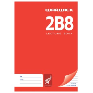 2B8 A4 188Pg Hard Cover Lecture Book