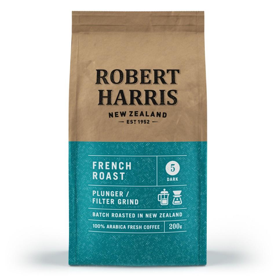 Robert Harris French Roast Plunger/Filter Coffee 200g