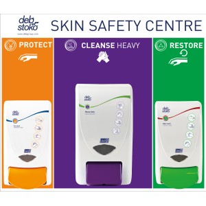 Deb Stoko 3 Step Skin Safety Centre Board SSCSML1